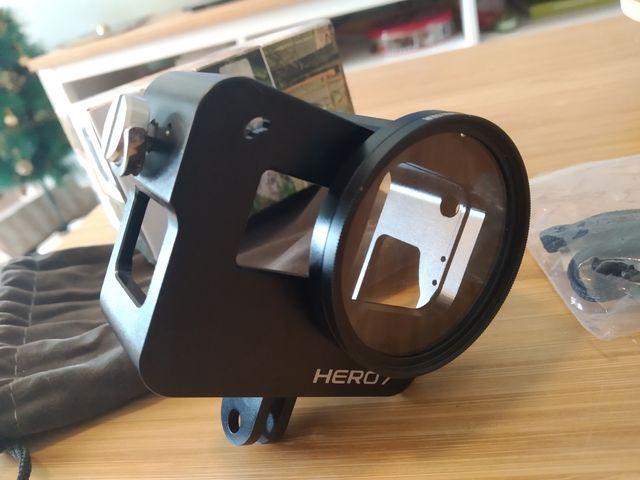 Funda CNC GoPro Hero 7