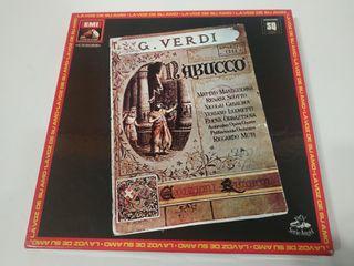 Triple Vinilo Giuseppe Verdi - Nabucco