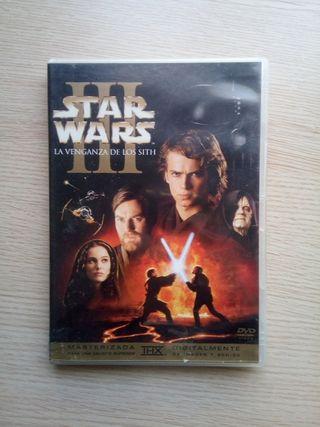 DVD Star Wars III La venganza de los Sith