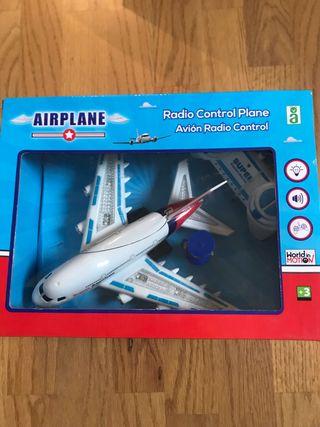 Airplane Avión Radio Control SIN ESTRENAR