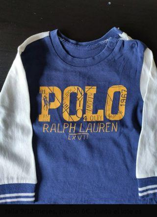 camiseta Polo Ralph Lauren bebé