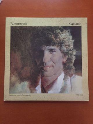 Autorretrato. Disco vinilo de Camarón de la Isla.