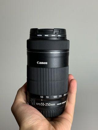 CANON zomm lens EF-S 55-250mm 1:4-5.6 IS STM
