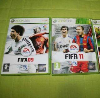 FIFA 09 Y FIFA 11 XBOX 360