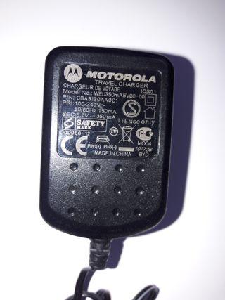 Motolora Original Genuino Cargador WEu350m