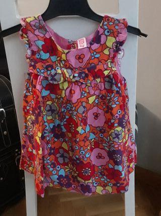 vestido de pana tuc tuc 18 m 83 cms.