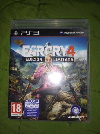 farcry 4 PS3 edición limitada (como nuevo)