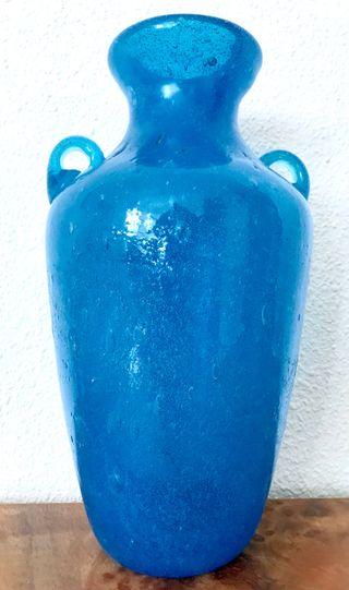 Antiguo ánfora de pasta de cristal Murano