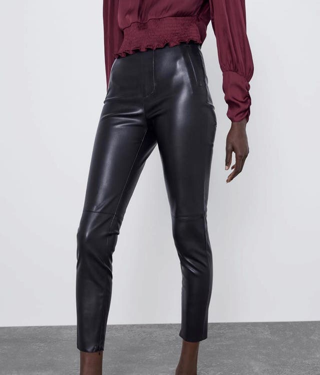 Pantalón piel Nueva Temporada Zara