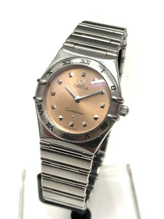 Omega Constellation My Choice Quartz Mini Pink