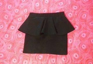 Minifalda negra