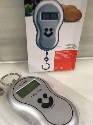 Balanza electrónica con gancho hasta 5 kg