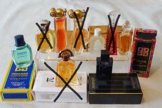 88 - Miniaturas de perf de perfume Givenchy 2