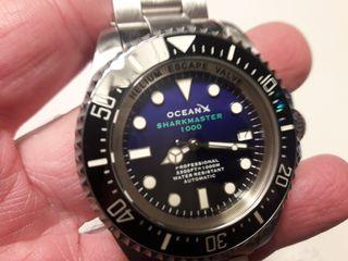 reloj diver ocean x sharkmaster 1000
