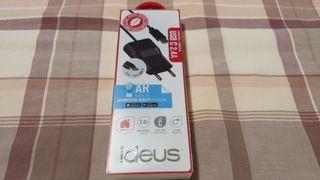 Vendo cargador Ideus USB tipo c 2.4a