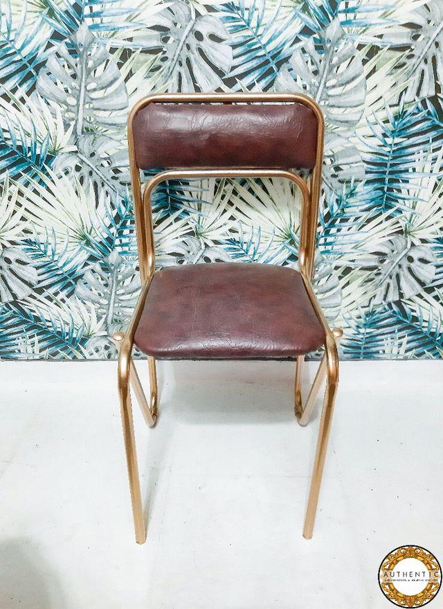 Silla Vintage Industrial Chic Metalica