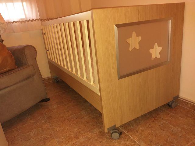 Cuna / cama convertible de madera maciza Giochi