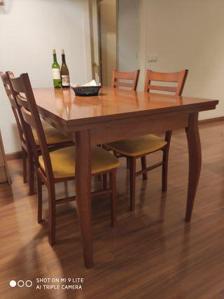taula de menjador doble