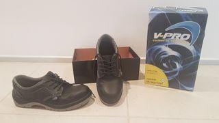 Zapatos Protección Laboral Seguridad T 43