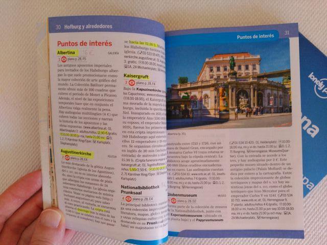 """Guía """"Viena de cerca"""" de Lonely Planet"""
