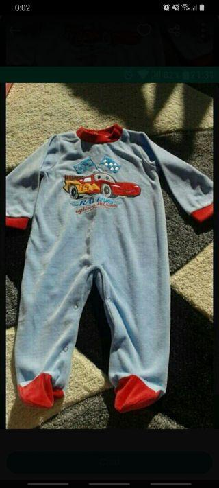 Pijama Disney Cars nueva 12 meses