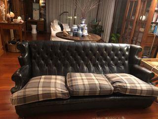 Sofa Chester antiguo restaurado