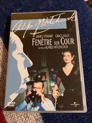 Película La ventana indiscreta DVD