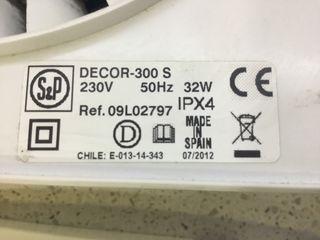 Extractor S&P DECOR 300-S