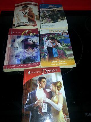 Lote novelas románticas Harlequin