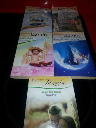Lote novelas románticas Jazmín