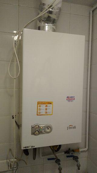 Caldera de gas ferroli domiproject c24 y varios