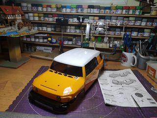 Carroceria Lexan 1/10 Toyota Fj cruiser