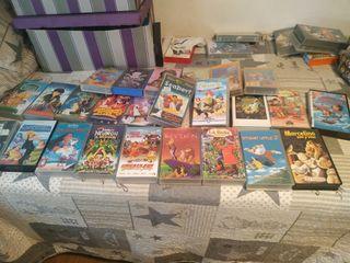 Películas VHS algunas no son originales la mayoría