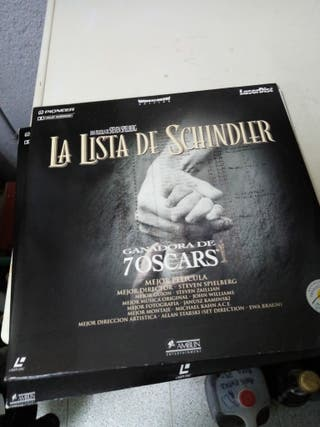 laser Disc la lista de Schindler