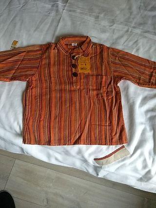 Camisa hippie para bebé