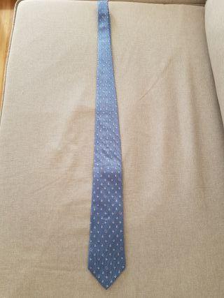 Corbata Loewe Seda Azul