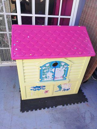 Casa de plastico, Peppa Pig