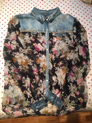 *Camisa flores*