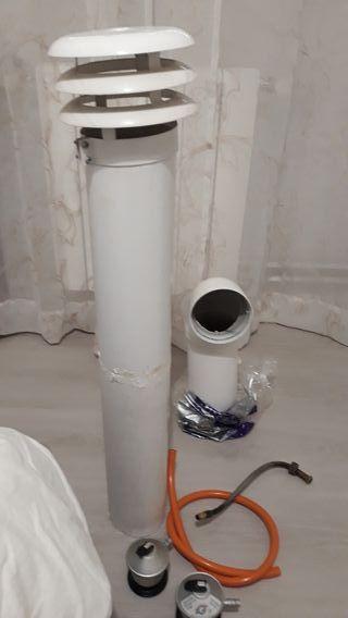 conductos de gas butano