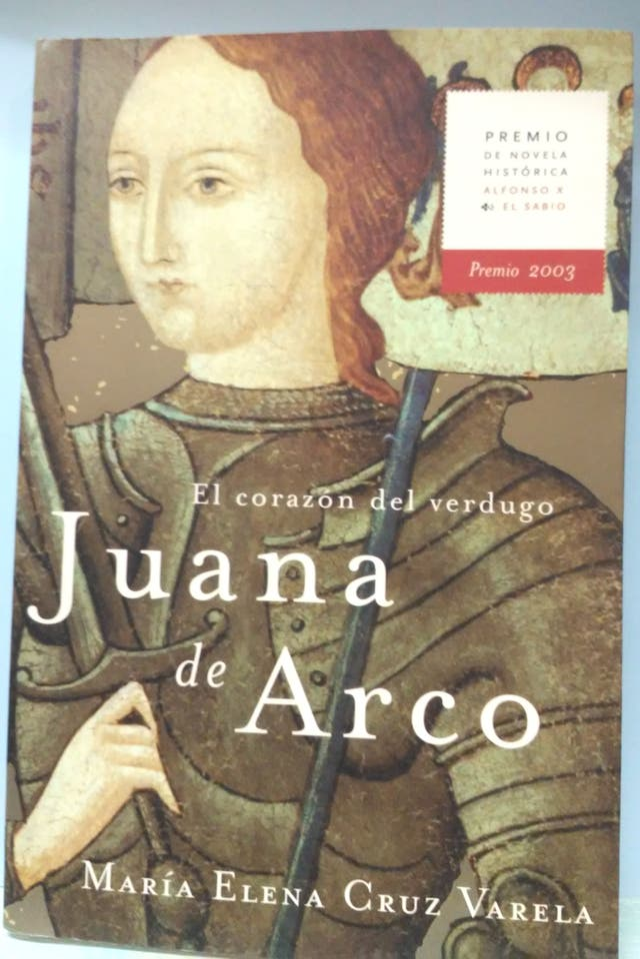 libro Juana de Arco premio 2003