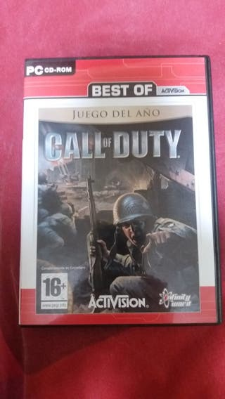 juego call of duty pc