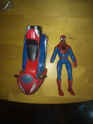 Spider-Man con Moto ToyBiz 2006 Marvel