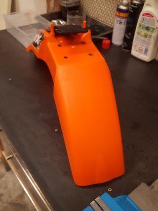 Guardabarros supermotard KTM