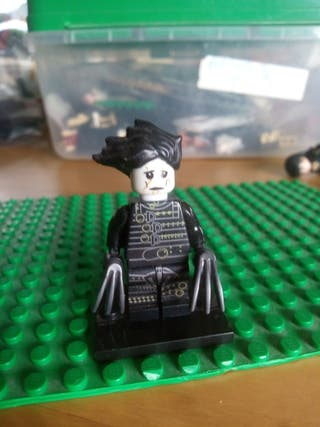 Eduardo Manostijeras Lego Compatible Tim Burton