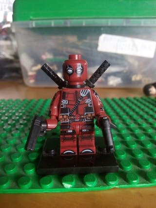 Deadpool Lego Compatible Marvel