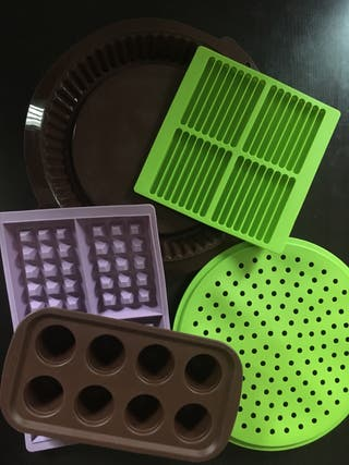 Set moldes silicona, sin usar