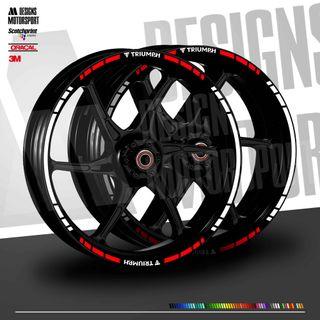 Pliegos para ruedas Triumph