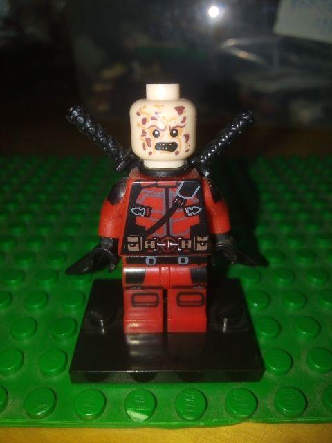 Deadpool Lego Compatible Marvel Comics