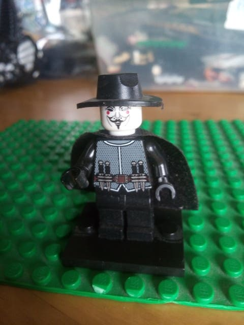 V de Vendetta Lego Compatible DC comics