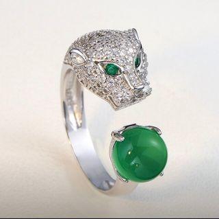 Sortija anillo estilo Cartier pantera